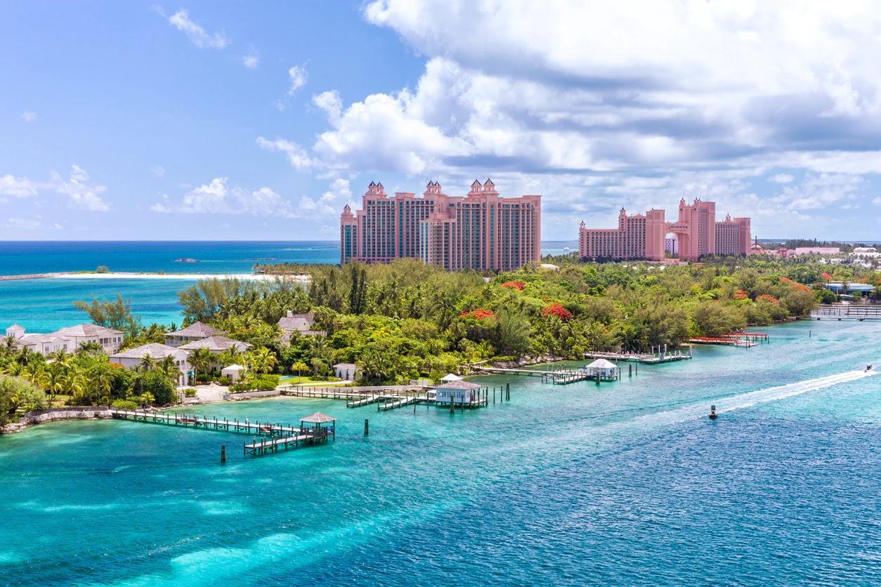 Город Нассау на Багамах
