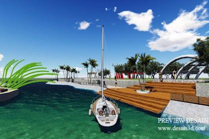 Jasa Desain 3D Dermaga Murah Berpengalaman