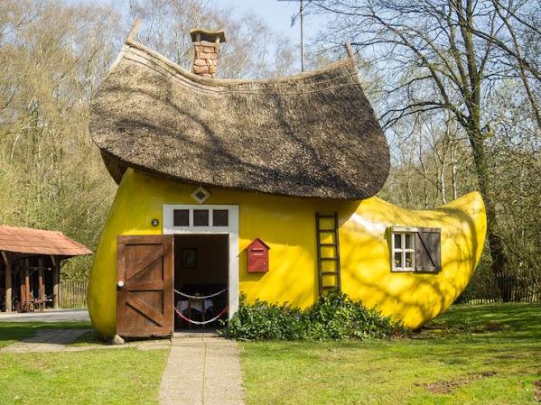 Ngôi nhà hình chiếc ủng ở Hà Lan