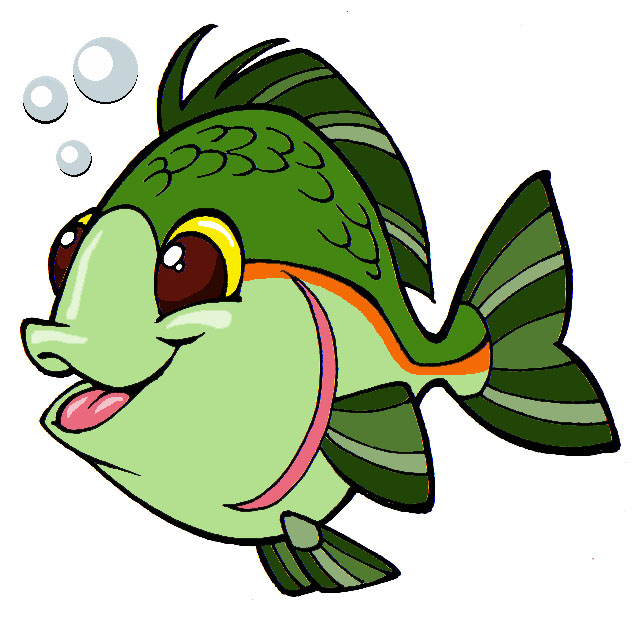 fish clipart drawing - photo #8
