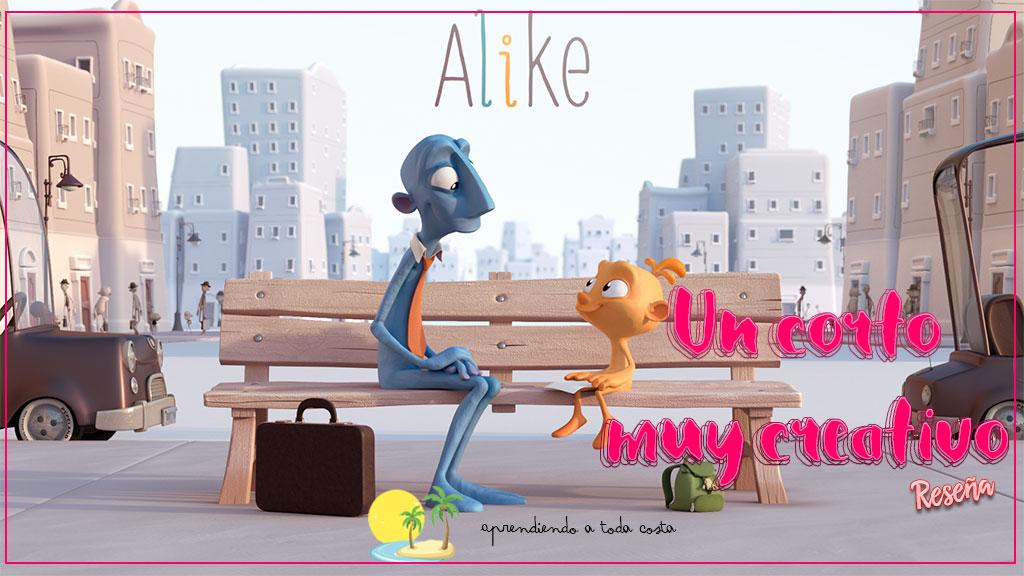 Alike, un corto muy creativo - Portada