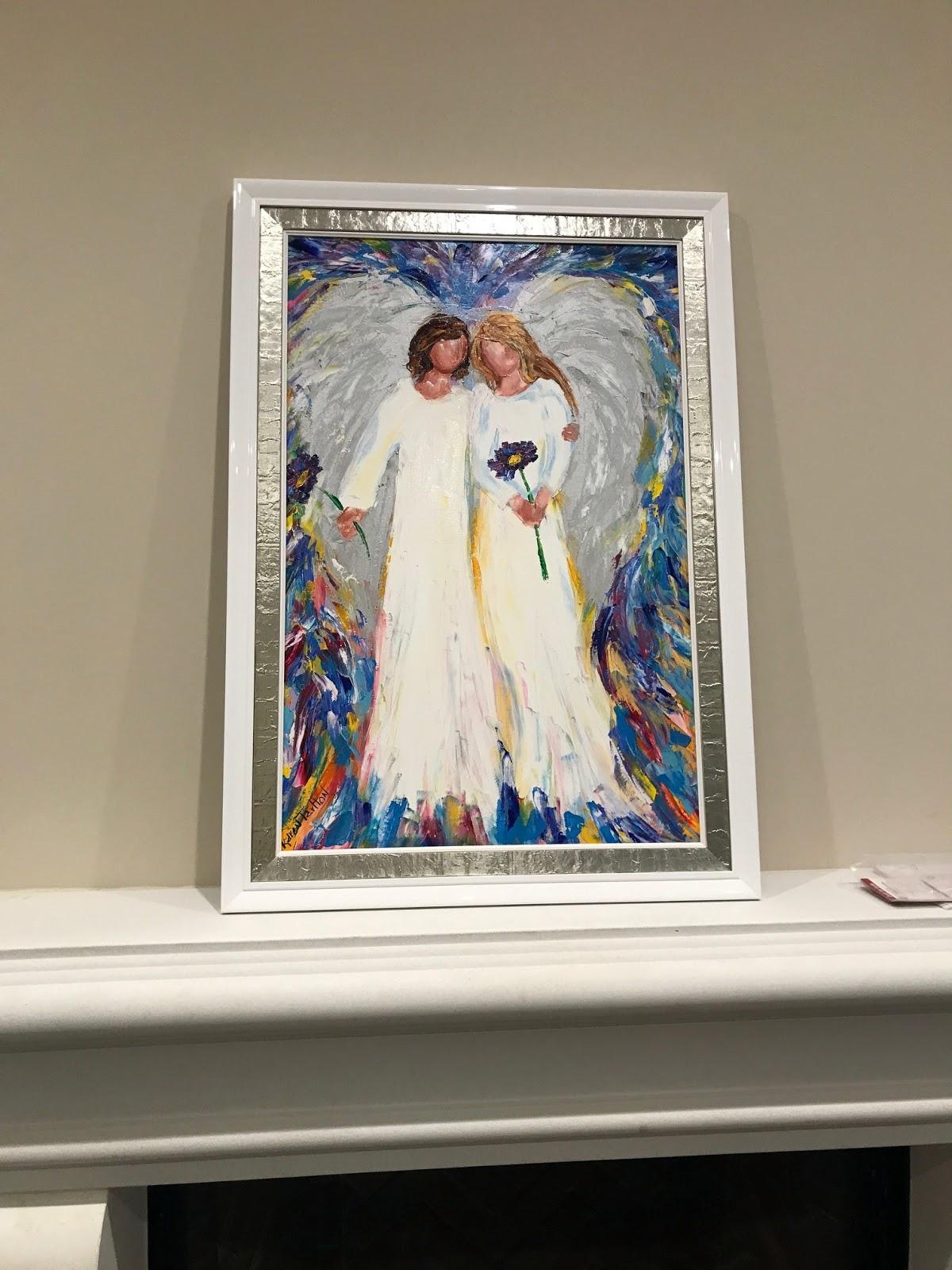 Karen Tarlton Original Angel Oil Paintings By Karen Tarlton