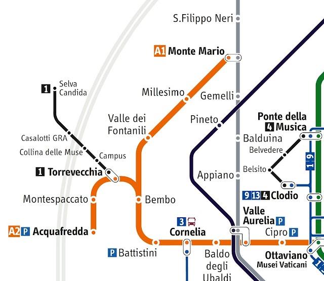 Prolungamento Metro A, assegnati a Roma 5,6 milioni di euro per la progettazione