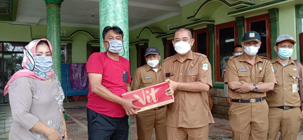 Peduli Bencana Banjir  di Kabupaten Bekasi , Disperkimtan Salurkan Bantuan