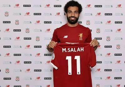 Berger Puji Liverpool Resmi Rekrut M Salah