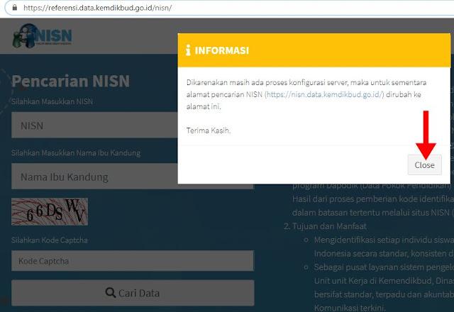 Cara Terbaru Cek NISN Online Siswa PAUD-TK-SD-SMP-SMA-SMK
