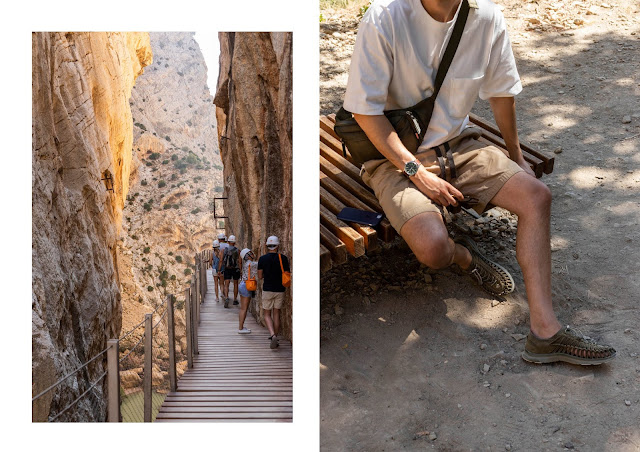 Is caminito del rey the world's most dangerous walkway, hiking in malaga spain