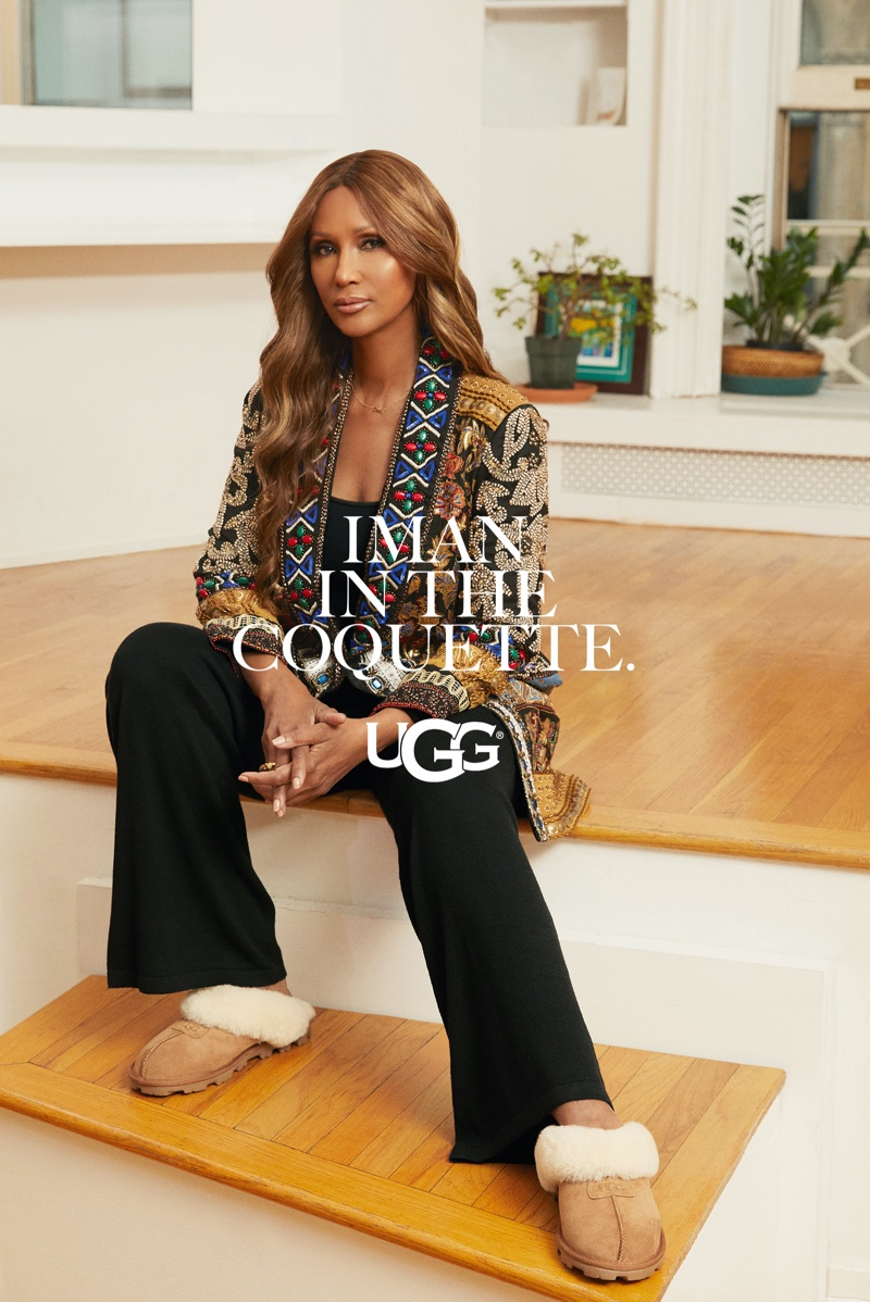 UGG unveils spring 2021 advertising campaign with Iman.