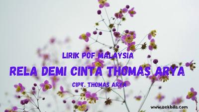 lirik lagu thomas arya
