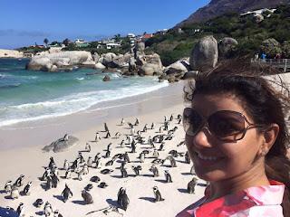 Madhu Sharma in south africa