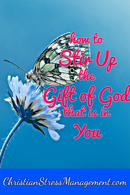 How to Stir Up the Gift of God that is in You (2 Timothy 1:6)