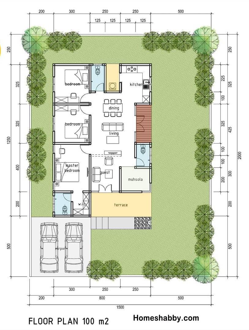 67 Desain Rumah Minimalis Ukuran 5x20 | Desain Rumah Minimalis...