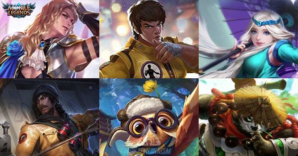 16 Hero Mobile Legends Yang Wajib Dimiliki Karena Sangat Berguna
