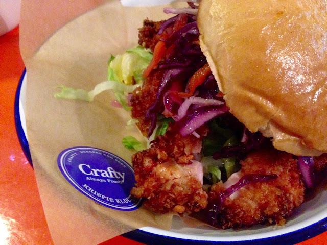 The Krispie Klucker at Crafty Burger, Leicester. Gingey Bites