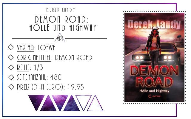 [Rezension] Demon Road: Hölle und Highway - Derek Landy