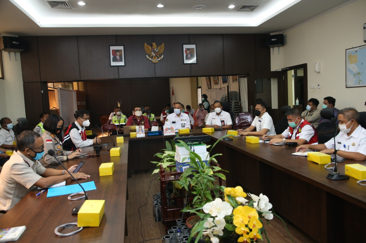 Antisipasi Lonjakan Penumpang Jelang Nataru, Bandara Hang Nadim Batam Gelar Rapat Kordinasikan