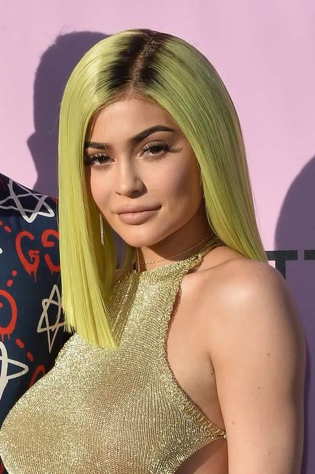 OMG! Busty Kylie Jenner debuts NEON hair as she shows off curves at Coachella