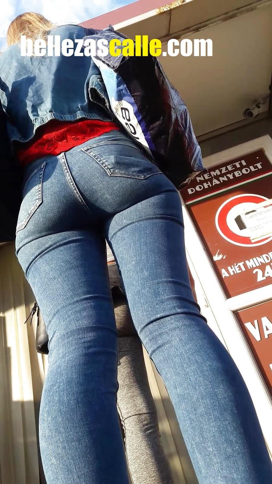 Chicas con pantalones apretados