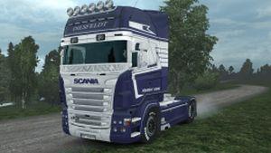 Diesfeldt skin for Scania RJL by #Borce