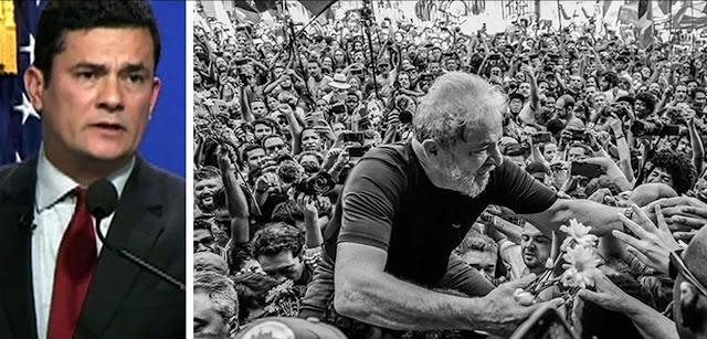 """Moro: """"Lula faz parte do meu passado e acho que do passado do país"""""""