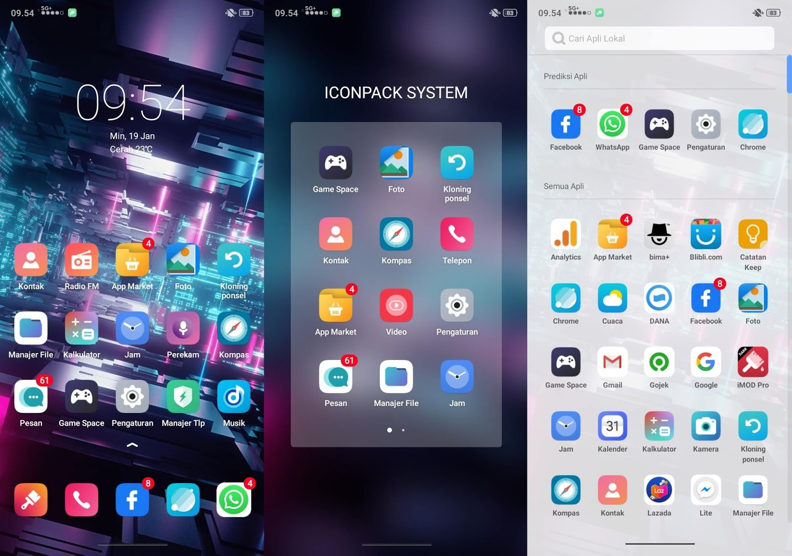 Special Experience UI Themes for OPPO & Realme