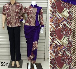 gambar setelan baju batik wanita