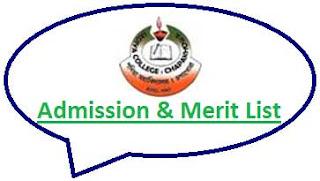 Sadiya College Merit List