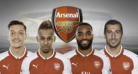 Arsenal đã bỏ ra khoản đầu tư không nhỏ cho các ngôi sao này