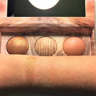 Urban Decay Naked Illuminated Trio swatches