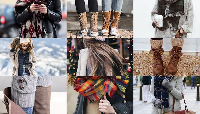 Как одеться зимой стильно и не замерзнуть?
