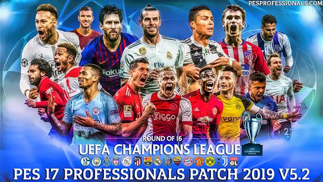 PES 2017 PROFESSIONALS PATCH V5 2 Season 2019 ~ Game Plus Patch