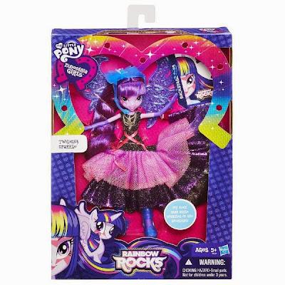 JUGUETES - My Little Pony : EQUESTRIA GIRLS Rainbow Rocks   Twilight Sparkle | Muñeca | Edición Lujo  Producto Oficial | Hasbro A8059 | A partir de 5 años