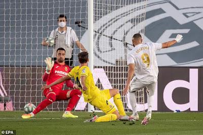 Video Real Madrid 2-1 Villarreal: Người hùng lập cú đúp chào tân vương