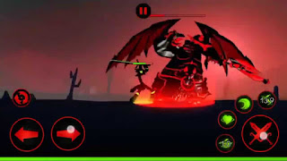 Download Gratis League Of Stickman 2017 Mod Apk Terbaru (Free Shopping)