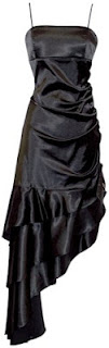 bridesmaid dress black
