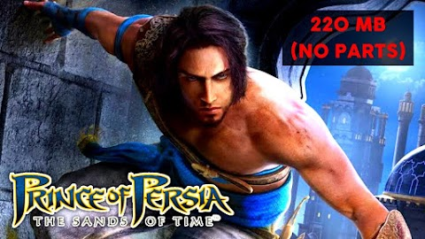 Download Prince of Persia: Sands of Time Free For PC in 200MB (No Parts) 2021