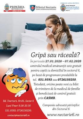 raceala si gripa - info drumul taberei