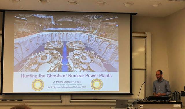 Professor Ochoa-Ricoux hunts for ghosts at UCI Physics Colloquia (Source: Palmia Observatory)