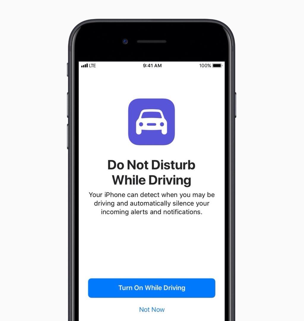 Do Not Distrub iOS 11 new