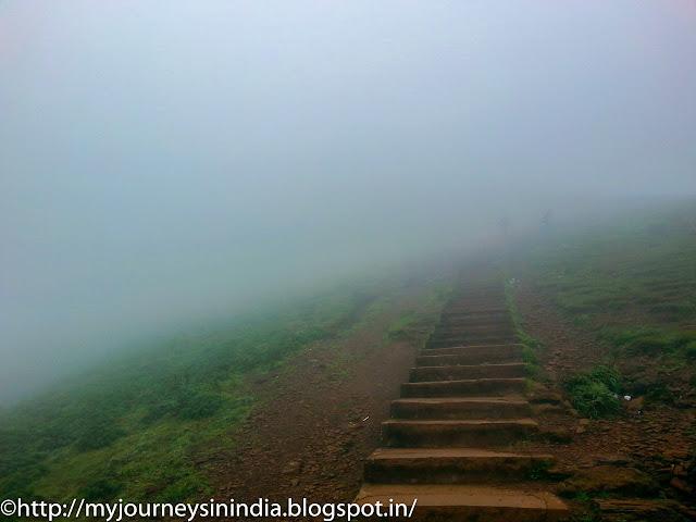 Mullayanagiri Peak steps