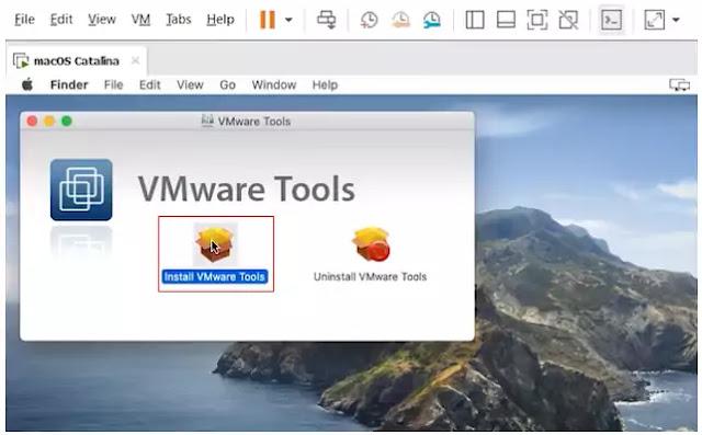 nstall VM tools
