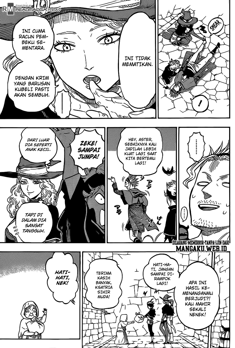 Manga Black Clover Chapter 10 Bahasa Indonesia