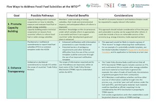 Five Ways to Address Fossil Fuel Subsidies at the WTO (Credit: Climate Strategies, SEI, IISD, Global Subsidies Initiative) Click to Enlarge.
