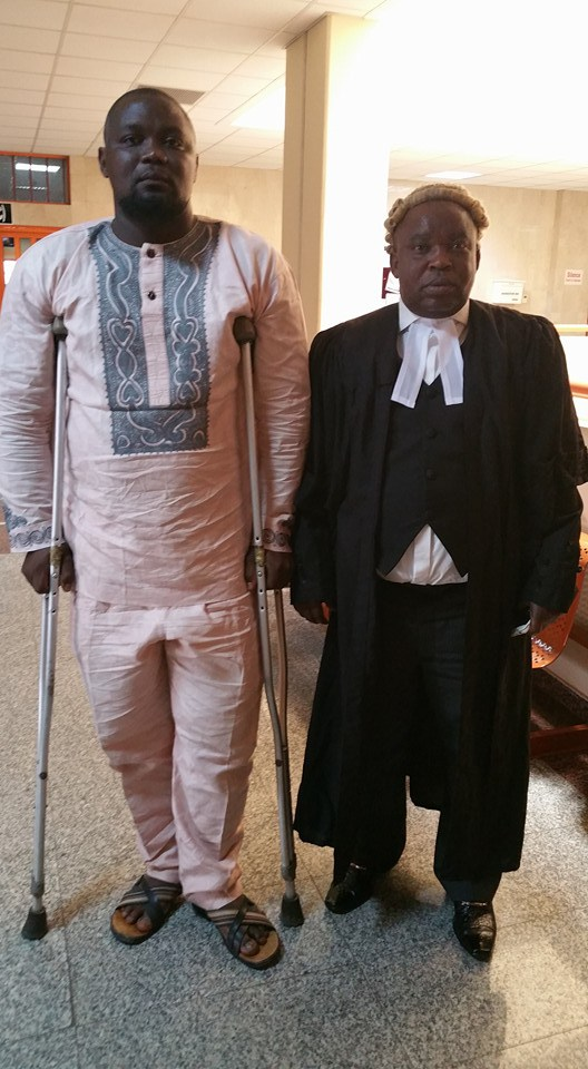 Court Awards N50m To Man Shot By Police Officer In 2013
