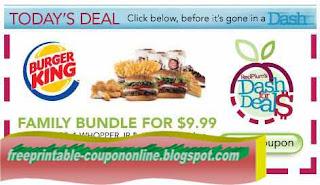 Free Printable Burger King Coupons