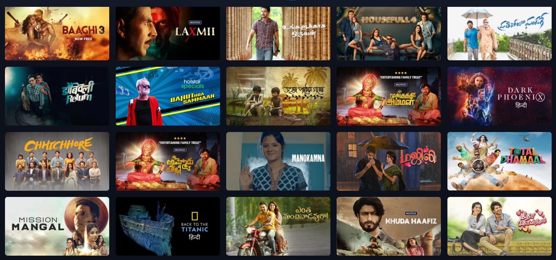 Tamilrockers Latest Leaked movies List