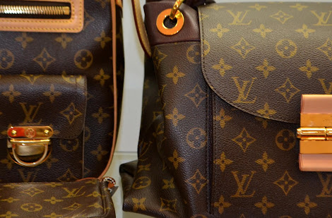 3340b26d97bd They also carry a large selection of Louis Vuitton and Chanel. I can't get  enough of the gold hardware.