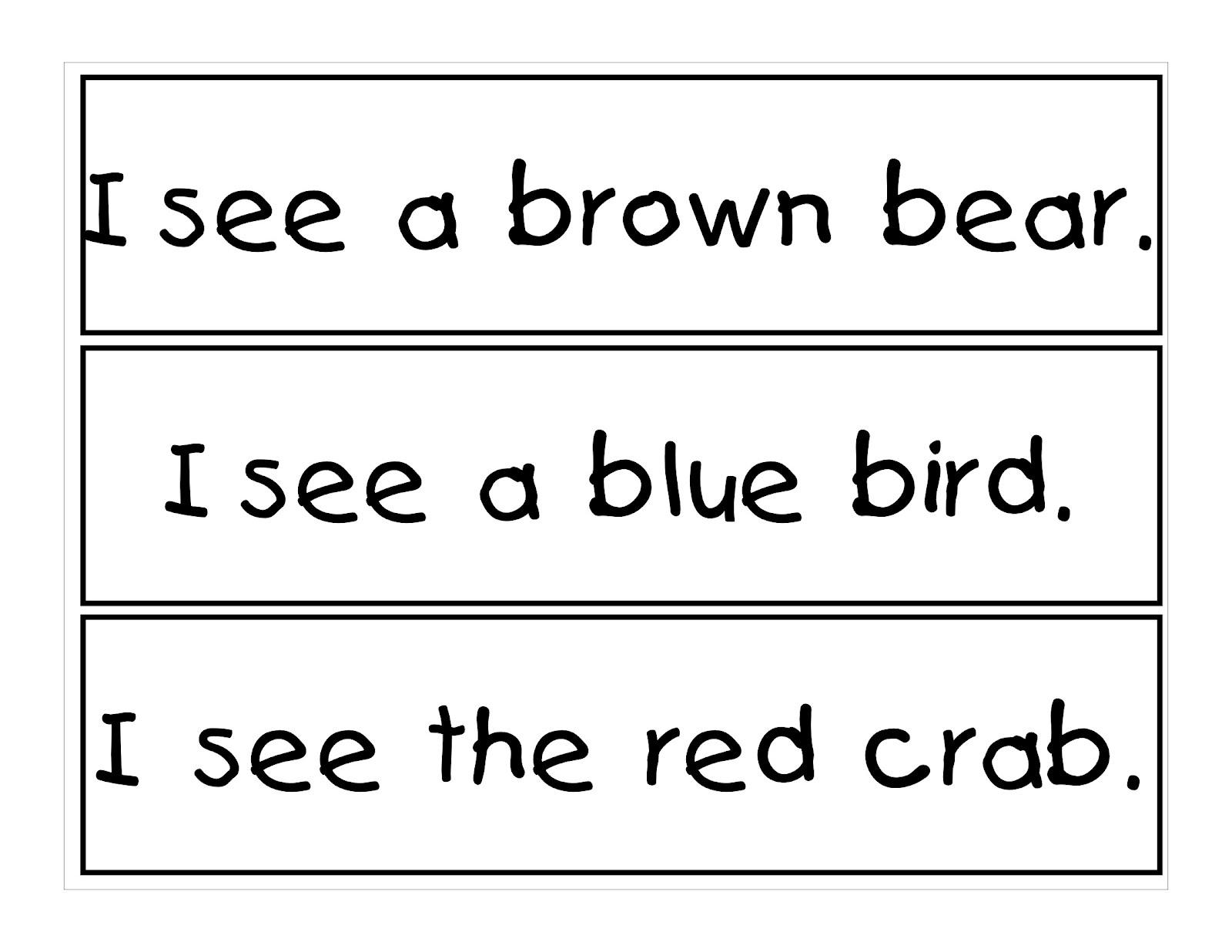 Kindergarten Night Owls Sentence Matching