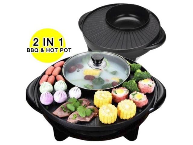 BBQ Grill & Steambot Hot Pot