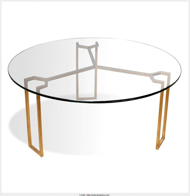 Marvelous round modern coffee tables Photograph